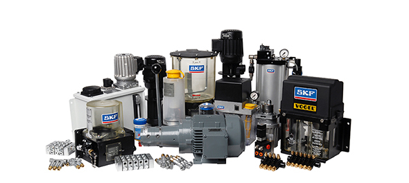 hes lubemec, skf, lincon and vogel lubrication components