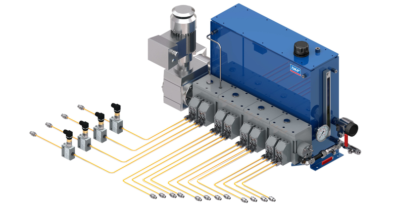 multi-line oil lubrication systems