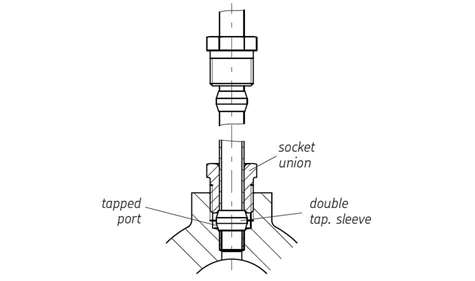 Picture of Connectors for Steel and Copper Tubing